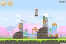 Angry Birds Seasons Cherry Blossom Level 1-11 Walkthrough