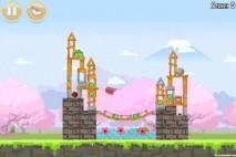 Angry Birds Seasons Cherry Blossom Level 1-12 Walkthrough