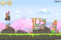 Angry Birds Seasons Cherry Blossom Level 1-15 Walkthrough