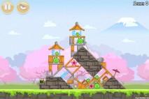 Angry Birds Seasons Cherry Blossom Level 1-2 Walkthrough