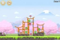 Angry Birds Seasons Cherry Blossom Level 1-3 Walkthrough