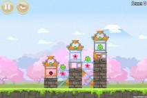 Angry Birds Seasons Cherry Blossom Level 1-6 Walkthrough
