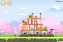 Angry Birds Seasons Cherry Blossom Level 1-7 Walkthrough