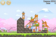 Angry Birds Seasons Cherry Blossom Level 1-8 Walkthrough