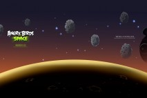 Angry Birds Space Asteroids Desktop Wallpaper 1920x1080