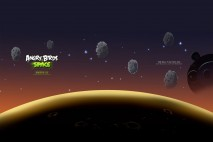 Angry Birds Space Asteroids Laptop Wallpaper 1280x1024
