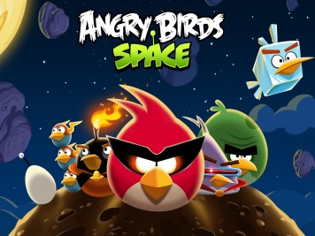 Angry Birds Space Bird Clan Laptop Wallpaper 1280x1024