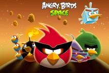 Angry Birds Space Bird Clan Light Desktop Wallpaper 1920x1080