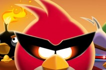 Angry Birds Space Bird Clan Light iPhone Wallpaper