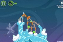 Angry Birds Space Cold Cuts Level 2-10 Walkthrough