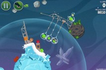 Angry Birds Space Cold Cuts Level 2-12 Walkthrough