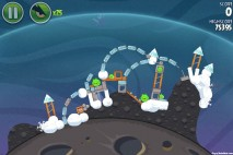 Angry Birds Space Cold Cuts Level 2-14 Walkthrough