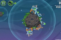 Angry Birds Space Cold Cuts Level 2-25 Walkthrough