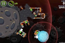 Angry Birds Space Danger Zone Level 14 Walkthrough