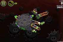 Angry Birds Space Danger Zone Level 18 Walkthrough