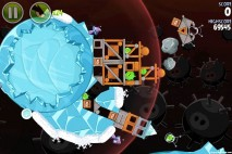 Angry Birds Space Danger Zone Level 22 Walkthrough