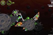 Angry Birds Space Danger Zone Level 24 Walkthrough