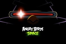 Angry Birds Space Laser Bird Dark Desktop Wallpaper 1920x1080