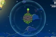 Angry Birds Space Pig Bang Level 1-1 Walkthrough