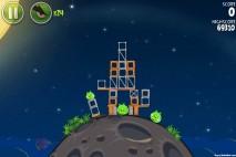 Angry Birds Space Pig Bang Level 1-4 Walkthrough