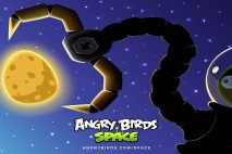 Angry Birds Space Pig Claw Desktop Wallpaper 1920x1080