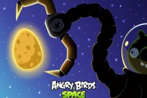 Angry Birds Space Pig Claw Laptop Wallpaper 1280x1024