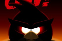 Angry Birds Space Red Bird iPhone Wallpaper