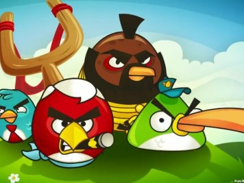 Angry Birds A-Team Sceenshot