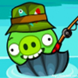 Angry Birds Avatar Pig Fishing