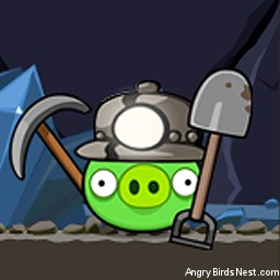 Angry Birds Avatar Pig Miner