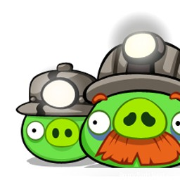 Angry Birds Avatar Pig Miners Up Close