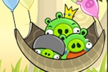 Angry Birds Avatar Pigs Floating Away