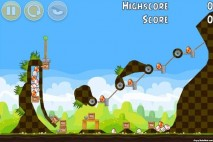 Angry Birds Chrome Seasons Easter Eggs Bonus Level #1