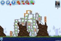Angry Birds Facebook Golden Egg 9 Walkthrough