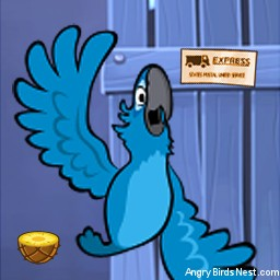 Angry Birds Rio Avatar Blu Flailing