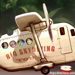 Angry Birds Rio Avatar Plane
