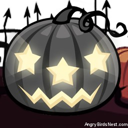 Angry Birds Seasons Avatar Big Black Pumpkin