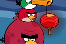 Angry Birds Seasons Avatar Birds with Chinese Lantern