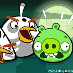 Angry Birds Seasons Avatar Ghost Birds