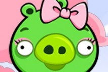Angry Birds Seasons Avatar Pig Girl