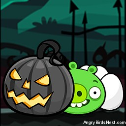 Angry Birds Seasons Avatar Pig Hiding