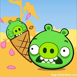 Angry Birds Seasons Avatar Pig in Cone