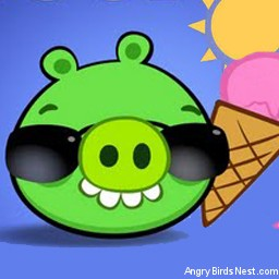 Angry Birds Seasons Avatar Pig in Shades