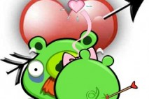 Angry Birds Seasons Avatar Pigs in Love