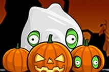 Angry Birds Seasons Avatar Pigs in Pumpkins