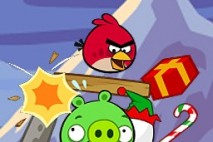 Angry Birds Seasons Avatar Red Bird Crash