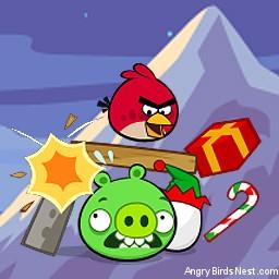 Angry Birds Seasons Avatar Red Bird Crash