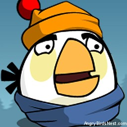 Angry Birds Seasons Avatar White Bird Snow