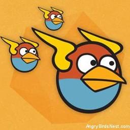 Angry Birds Space Avatar Blue Birds 2