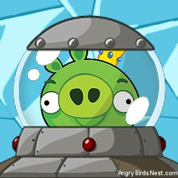 Angry Birds Space Avatar King Pig in Ship